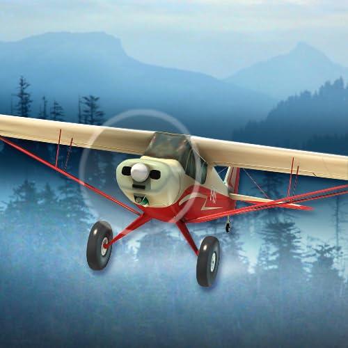 Flug über die Wildnis - Flugsimulator