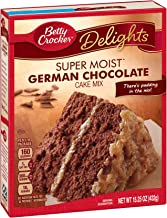 Betty Crocker Super Moist Cake Mix German Chocolate 15.25 oz Box (pack of 6)