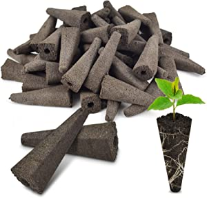 PACETAP Replacement Grow Sponges for Aerogardens (50 Pack) Compatible Seed Pod Sponges for Hydroponic,Seed Starter Sponge Pods Replacements,Root Growth Sponge Plugs for Seed Starting