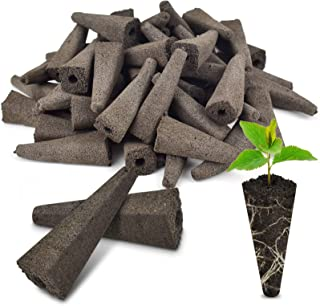 PACETAP Replacement Grow Sponges for Aerogardens (50 Pack) Compatible Seed Pod Sponges for Hydroponic,Seed Starter Sponge ...
