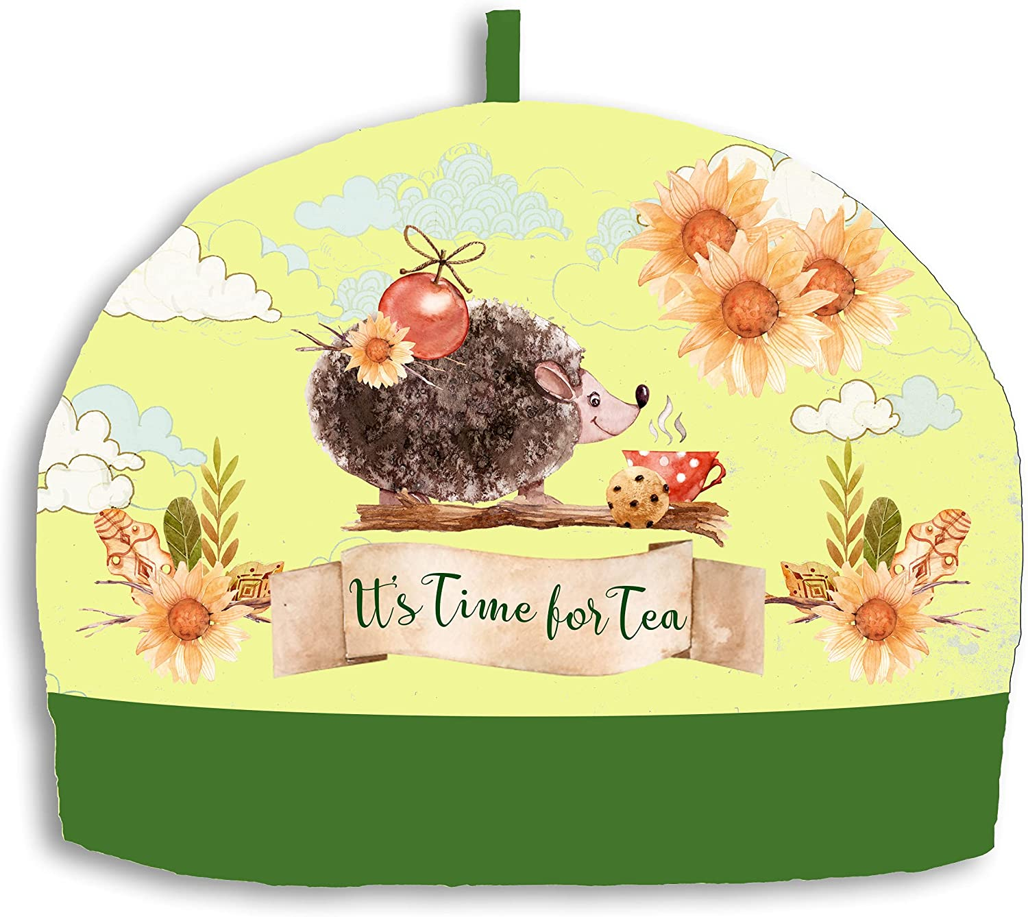 Max 76% OFF Whimsly Tea Cozy New life 6-8 Cup Hedgehog Friendly Insulated Size Design