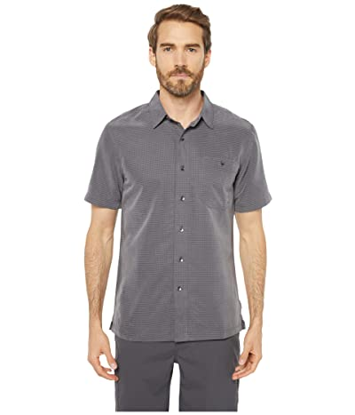 Royal Robbins Mojave Desert Pucker S/S (Asphalt) Men