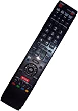 Replaced Remote Control Compatible for Sharp LC-60LE745U LC60LE640U LC46LE832U LC60LE810UN LC-40LE835U LC40LE830U AQUOS LE...