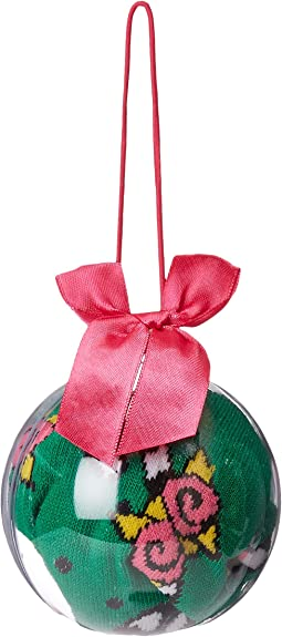 Betsey Johnson - 1 Pair Holiday Sock Ornament