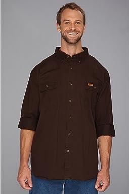 Carhartt - Big & Tall Sandstone Oakman Work Shirt