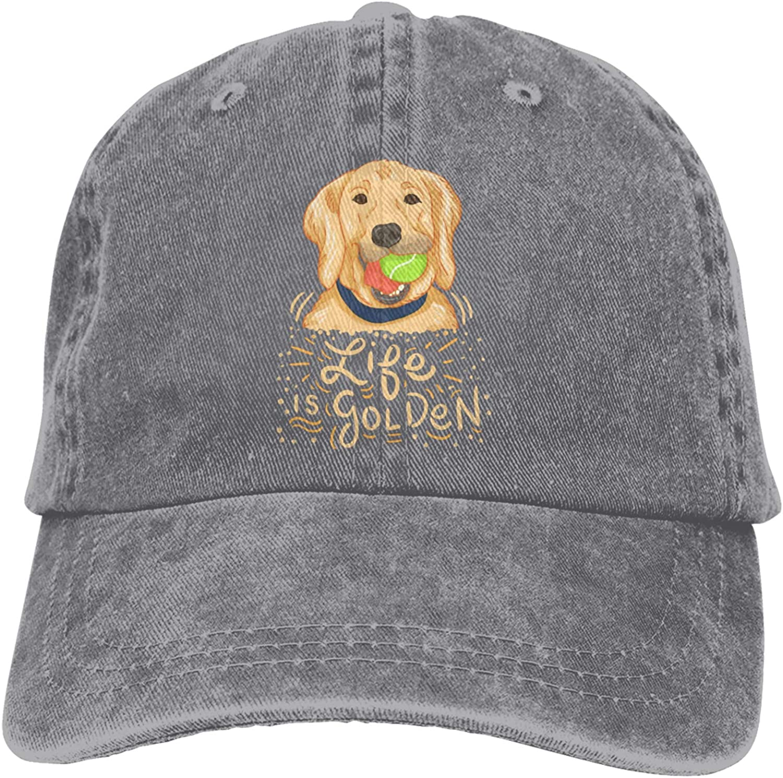 UQDGHT Best Dog Mum Ever Women's Adjustable Fabric Hat Fashion Distressed Baseball Cap
