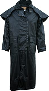 Outback Trail by Foxfire, Oilskin, Oilcloth Waterproof Drover, Duster Long Coat