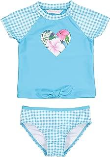Girls' Baby 2-Piece Shirt and Bikini Bottom Swim Set