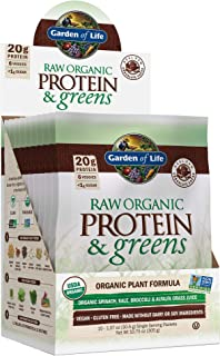 Garden of Life Greens and Protein Powder, 1.07 Ounce (Pack of 10)