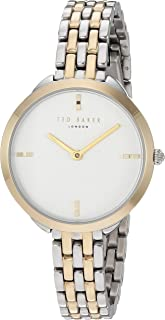 Ted Baker Women's Elana Quartz Watch with Stainless-Steel Strap, Two Tone, 10 (Model: TE15198007)