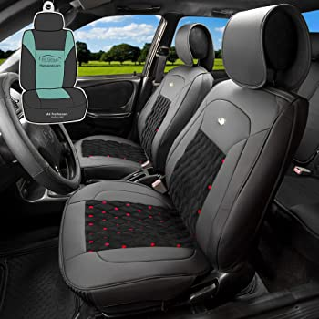 Eco-Leather Tailored Full Set Seat Covers RENAULT MEGANE CONVERTIBLE 2002-2009