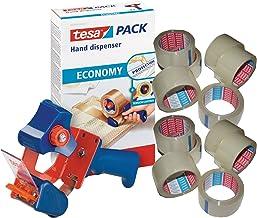 Tesa 06300-00001-00 tesapack Economy handafroller tot 50 mm | afzonderlijk of in voordeelverpakking met tape naar keuze