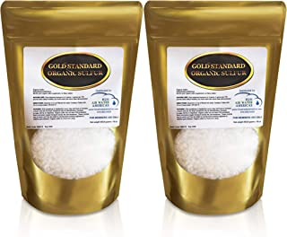 Sponsored Ad - Gold Standard Organic Sulfur Crystals 2lb - 99.9% Pure MSM Crystals - Largest Granular Flakes Available - 3...