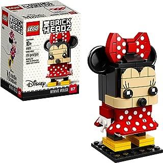 LEGO Brickheadz Minnie Mouse 41625 Building Kit (129 Piece), Multicolor