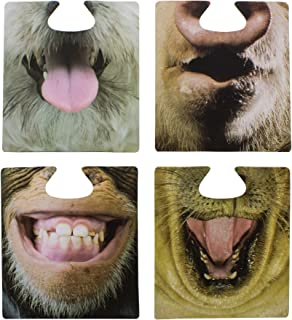 Paladone The Emporium Party Animal Face Coasters