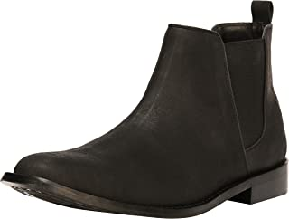 Liberty Men's Leather Chelsea High Top Ankle Casual Dress Boots