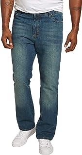 Men's Big & Tall Athletic Fit Side Elastic 5-Pocket Jeans