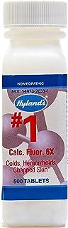 Hylands - Cell Salts #1 Calcarea Fluorica 6 X 1000 Tablets 77371