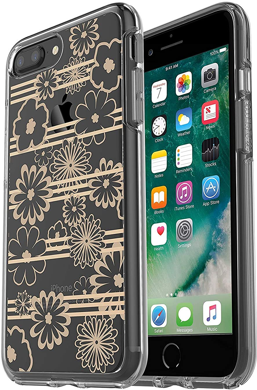 OtterBox Symmetry Series Slim Case for iPhone 8 Plus & iPhone 7 Plus (ONLY) Non - Retail Packaging - Drive ME Daisy