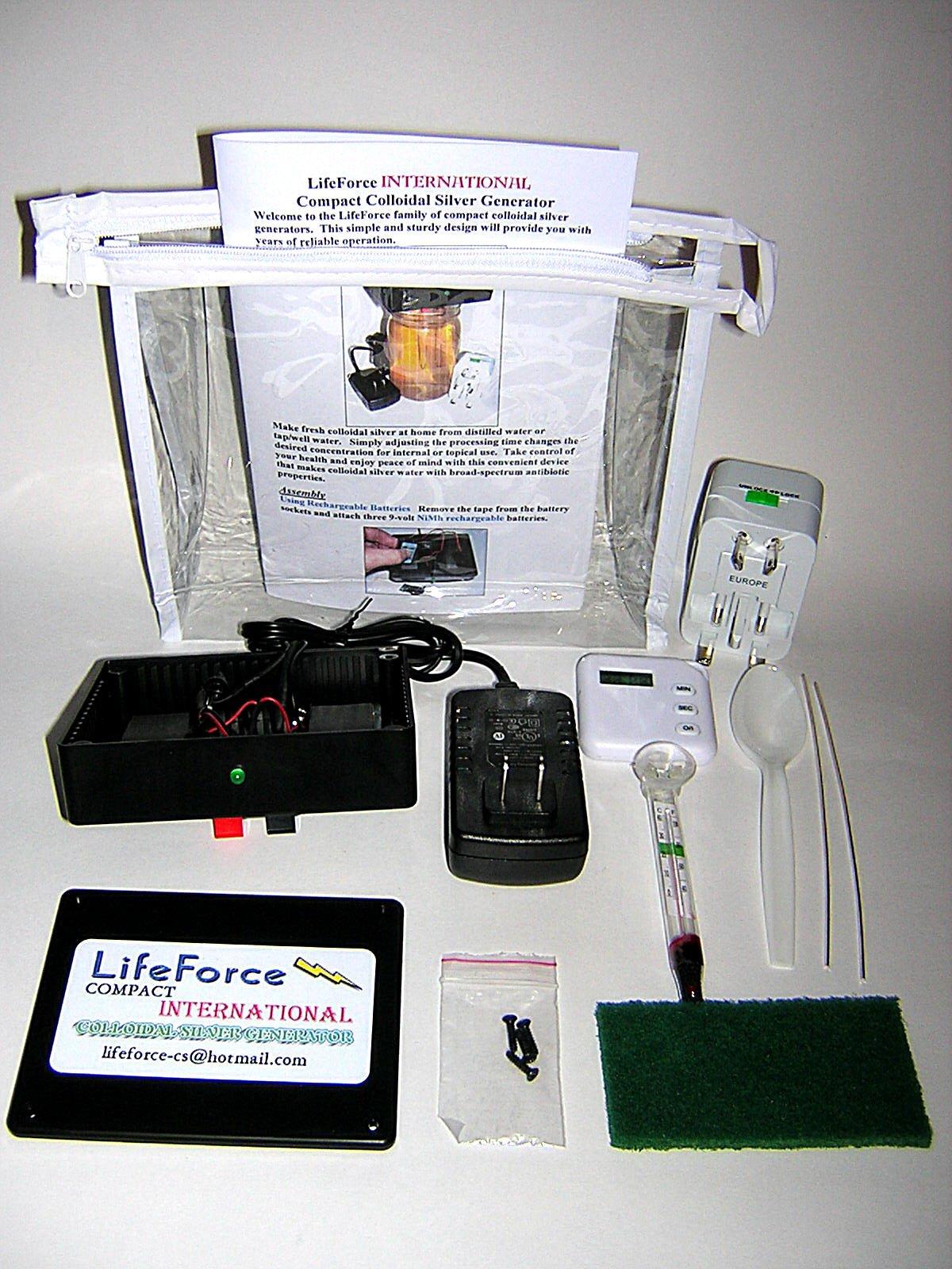 International Colloidal Generator LifeForce Devices