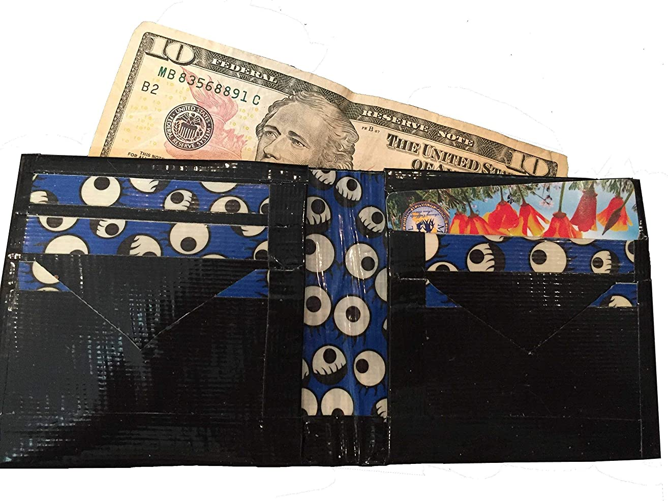 Duct Tape Wallet: Eyes