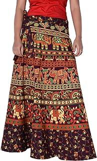 Sttoffa 36 Inch Length Wrap Around Rajasthani Skirt D4