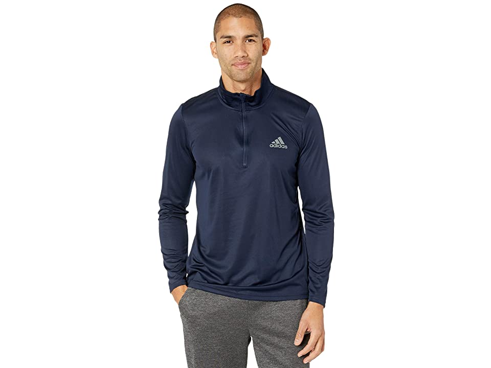 adidas Essentials Tech 1/4 Zip (Collegiate Navy) Men