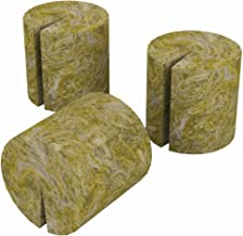 Grodan RW108004 Rockwool, 50-Pack Macro Plant Plugs, Green
