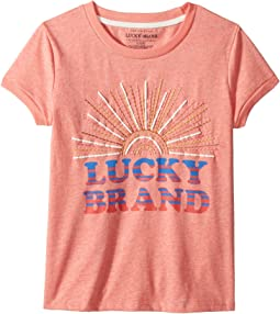 Lucky Brand Kids Maisie Tee (Big Kids)