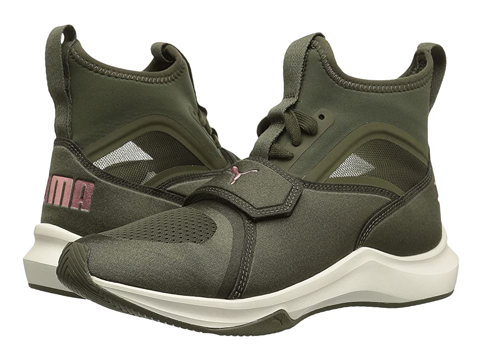 PUMA Phenom (Olive Night/Whisper White) Women