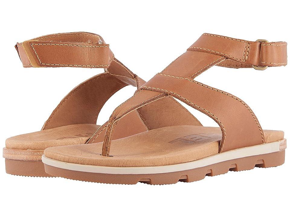 SOREL Torpeda Ankle Strap (Camel Brown) Women