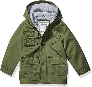 Carter's Boys' Midweight Snap & Zip Fleece Lined Jacket