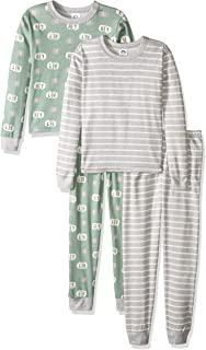 Baby Boys Toddler Organic 2 Pack 2-Piece Cotton Pjs