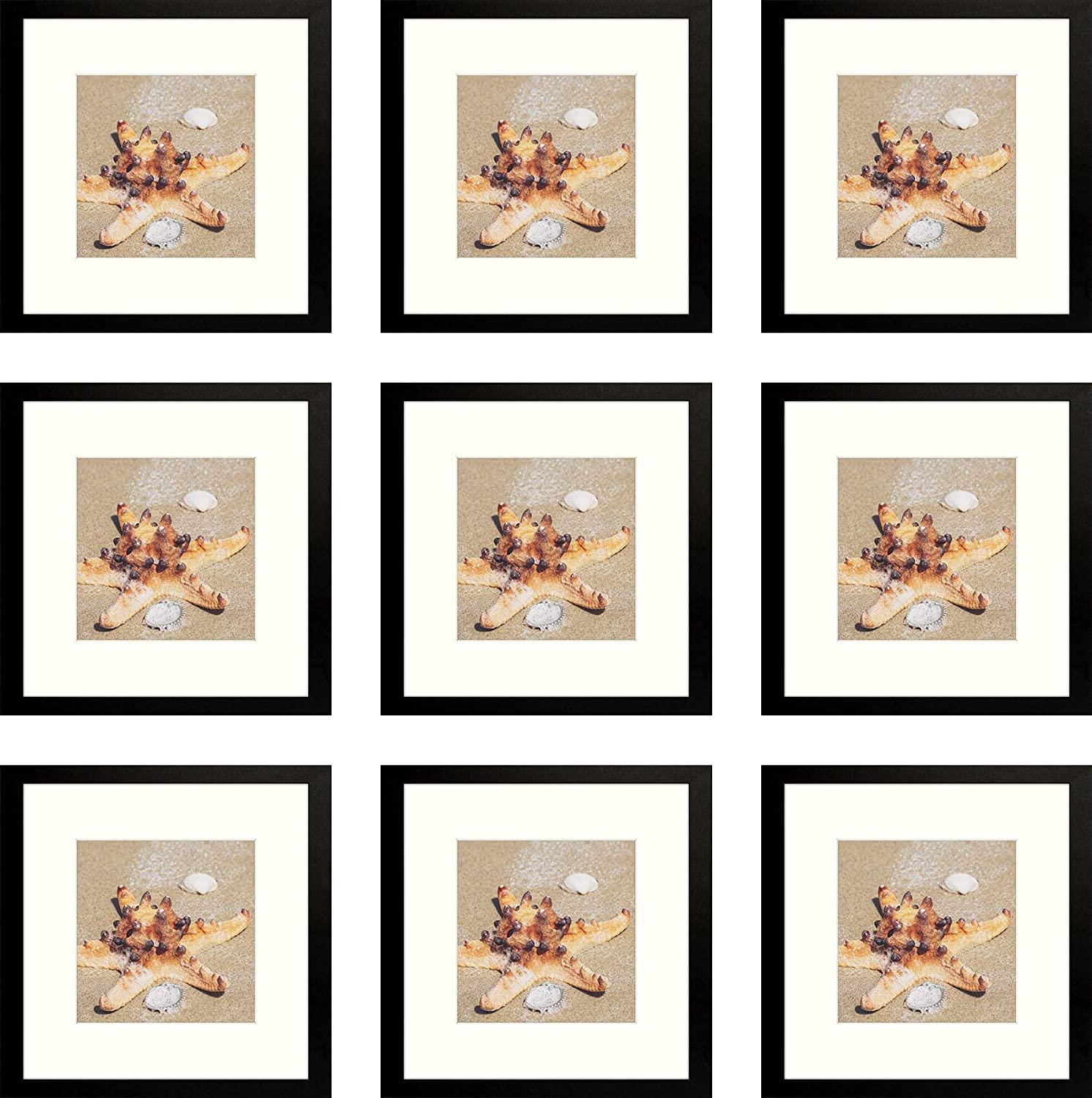 Golden 訳あり State Art 12x12 Frame with Displays Pictu 8x8 開催中 Square Mat