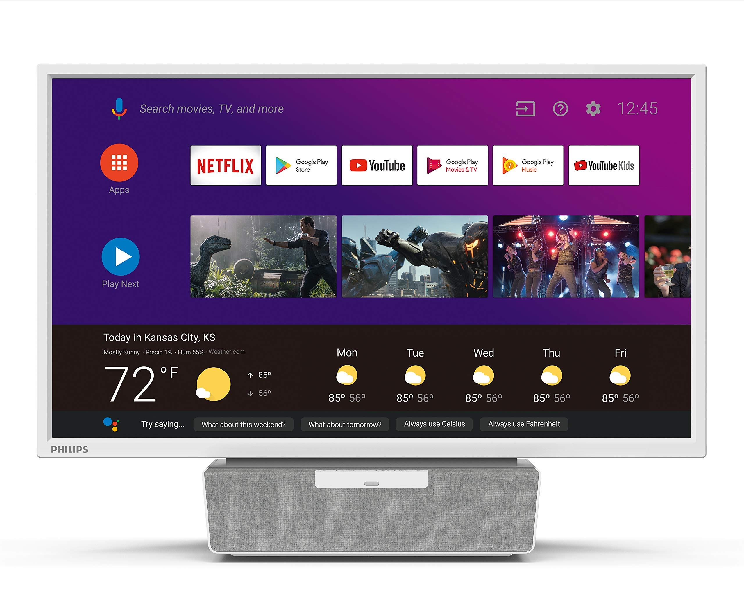 50PFL5704//F7 65PFL5504//F7 65PFL5604//F7 50PFL5604//F7 43PFL5704//F7 65PFL5704//F7 Philips NH800UP Android TV Remote /& Google Voice Assistance 43PFL5604//F7 55PFL5704//F7 55PFL5604//F7