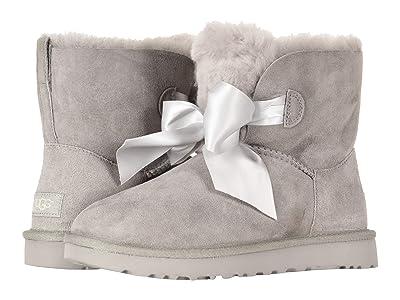 UGG Gita Bow Mini Boot (Seal) Women