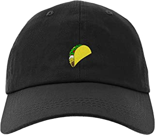 Embroidered Taco Cap for Men and Women, Adjustable Baseball Cap