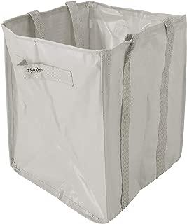 Martha Stewart MTS-MLB1-MPL 48-Gallon Multi-Purpose Reusable Heavy Duty Garden Tote Bag, Slate