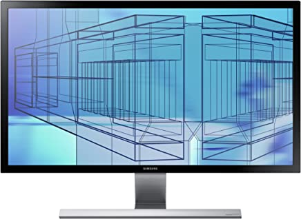 Samsung U28D590 Monitor PC 4K da 28 Pollici, Ultra High Definition, 2 HDMI, Display Port, Cornice Ultra Sottile, Nero Opaco - Trova i prezzi più bassi