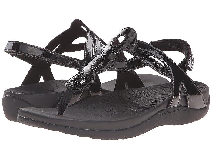 Rockport  Ramona (Black Patent) Womens Sandals