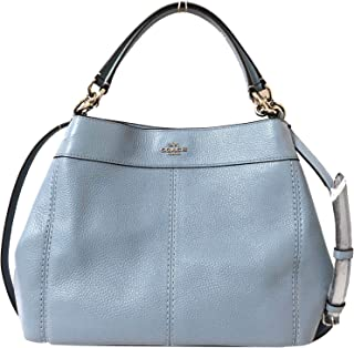 Coach Pebbled Leather Small Lexy Shoulder Bag Handbag