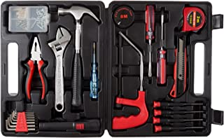 Stalwart - 75-HT1065 Household Hand Tools, 65 Piece Tool Set by , Set Includes – Hammer, Adjustable Wrench, Screwdriver Se...
