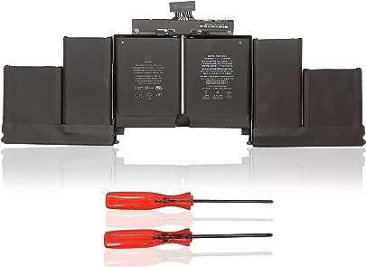 A1618 Battery for A1398 MacBook Pro 15 quot  15 4 quot  Retina  2015 Year  Series  Compatible MacBook Pro 020-00079 MJLQ2LL A MJLT2LL A  A    Cells  11 36V 99 5Wh Year Warranty