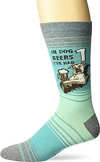 Men's Play on Words Novelty Crew Socks