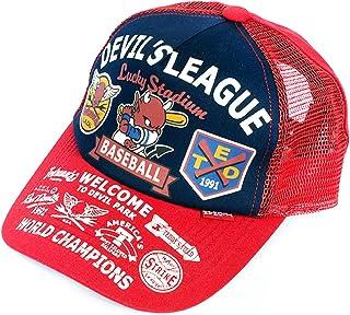 テッドマン キャップ 帽子 メッシュ 野球 ベースボール TEDMAN キッズ 子供 TDKC-3号r