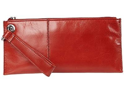 Hobo Vida (Brick Vintage Hide) Clutch Handbags