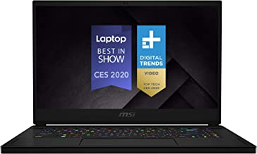 "MSI GS66 Stealth 10SFS-032 15.6"" 300Hz 3ms Ultra Thin and Light Gaming Laptop Intel Core i9-10980HK RTX 2070 Super 32GB 1TB NVMe SSD TB3 Win10PRO VR Ready"
