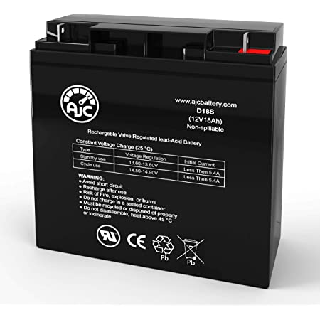 APC 12CE12 12V 12Ah UPS Battery This is an AJC Brand Replacement