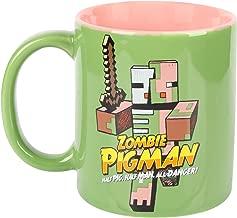 JINX Minecraft Zombie Pigman Ceramic Mug, 11 ounces
