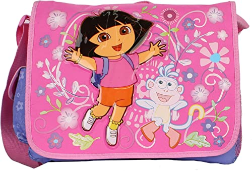 Dora Messenger Bag Full Size Large Messenger Shoulder Bag Bookbag